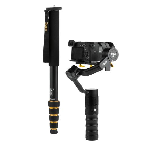 Ikan DS2-A-MPA70-KIT DS2-A Beholder 3-Axis Gimbal Monopod Extension Kit by Ikan