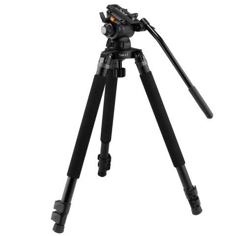 E-Image EG03TT Telescoping Video Tripod Quick Kit w/GH03 Head by E-Image