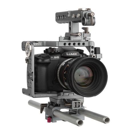 Tilta ES-T37 Panasonic GH4/GH5 Handheld Camera Cage Rig by Tilta