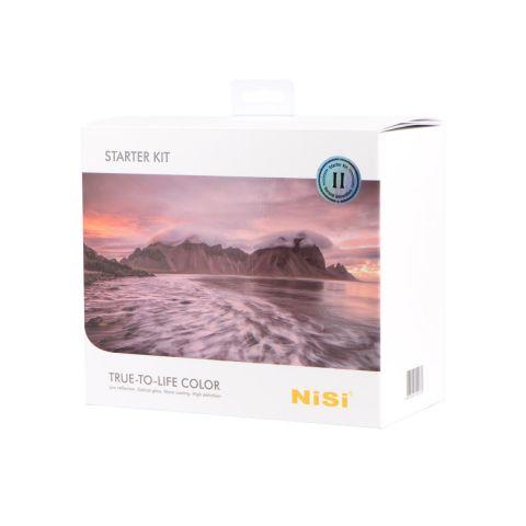 NiSi NIP-100-SKIT-II V5 Pro Starter Kit - Includes 100mm V5 Pro Holder, 2 ND Filters, 3 Stop Soft GND, and Case by Nisi