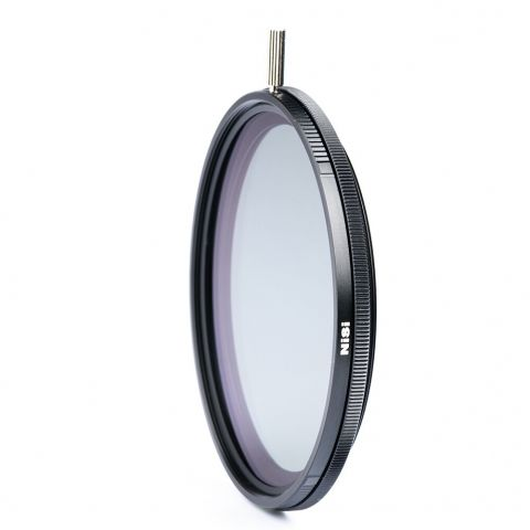 NiSi NIR-OB-82 VARI Orange & Blue Polarizer (82mm) by Nisi