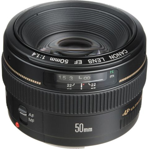 Canon EF 50mm f/1.4 USM Lens by Canon