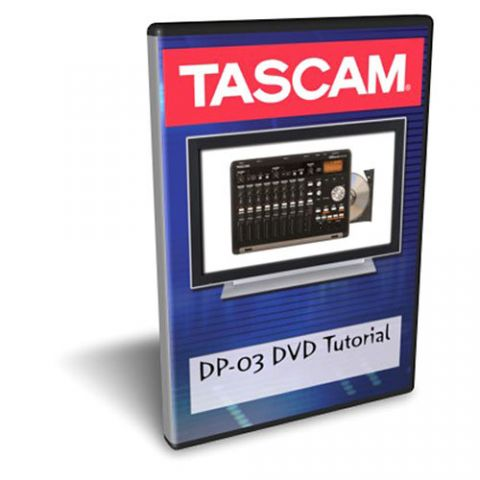 Tascam DP-03DVD DVD TUTORIAL FOR DP-03 by Tascam