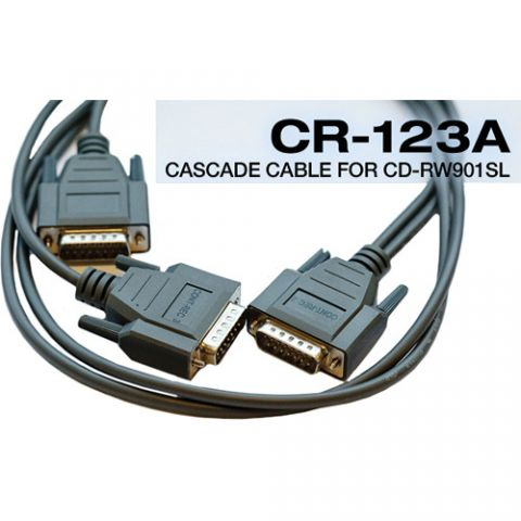 Tascam CR-123A 1 M CASCADE CABLE 3 UNITS FOR CDRW901SL by Tascam