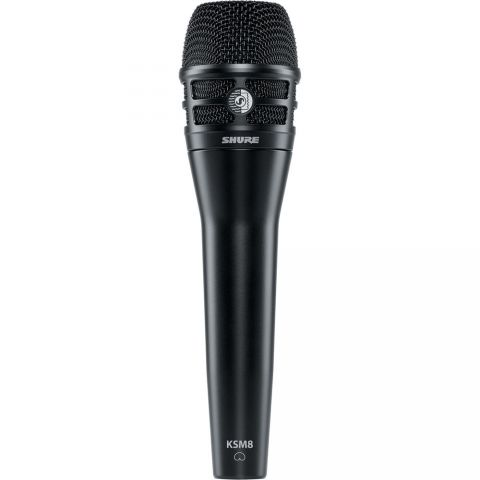 Shure KSM8/B Dualdyne Dynamic Handheld Vocal Microphone (Black) by Shure