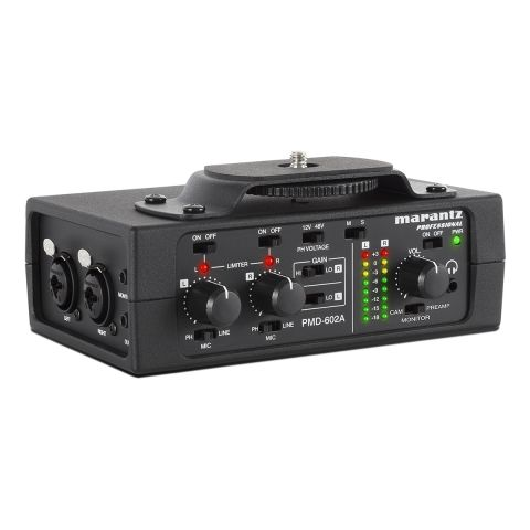 Marantz PMD-602A 2-Channel DSLR Interface by Marantz