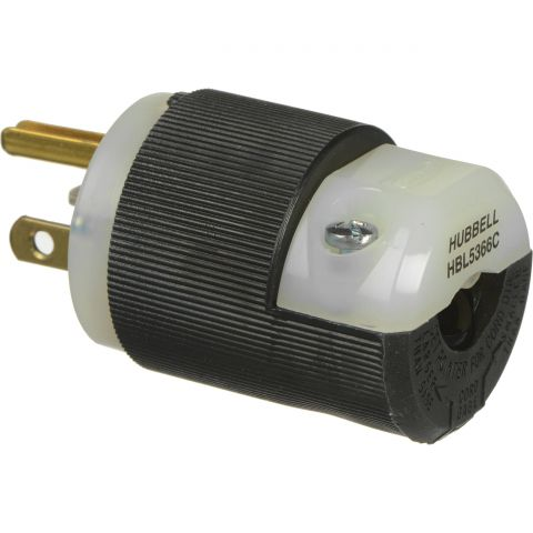 """Altman Male Edison to Female Stage Pin Adapter (18"""", 20A)"""