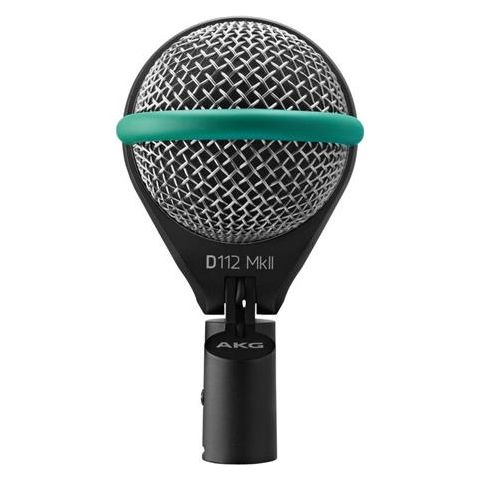 AKG Acoustics D112 MKII Professional Dynamic Bass Cardioid Microphone, 20-17000Hz by AKG