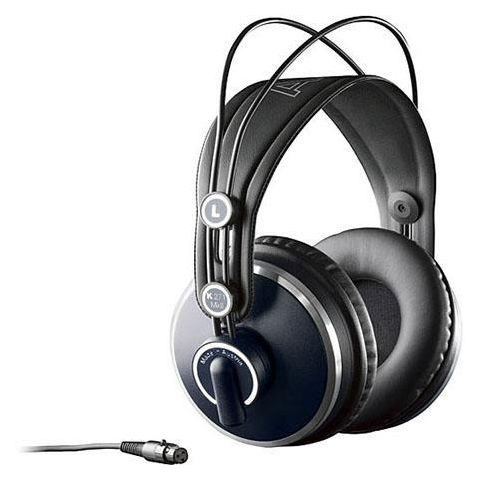 AKG Acoustics K 271 MK II Professional Studio Headphones, 16Hz - 28kHz Frequency Range, 55Ohms Impedance, 91dB Sensitivity by AKG