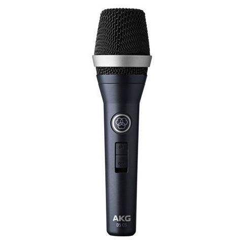 AKG Acoustics D5 Professional Dynamic Vocal Cardioid Microphone with On/off Switch, 20-17000Hz by AKG