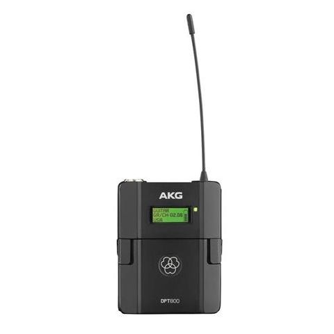 AKG Acoustics DPT800 Reference Digital Wireless Body-pack Transmitter, 25-20000Hz by AKG