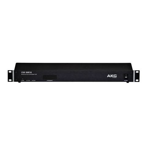AKG Acoustics CSX BIR10 10 Channel Infared Control Unit for CSX IRS10 Infrared Language Distribution System by AKG
