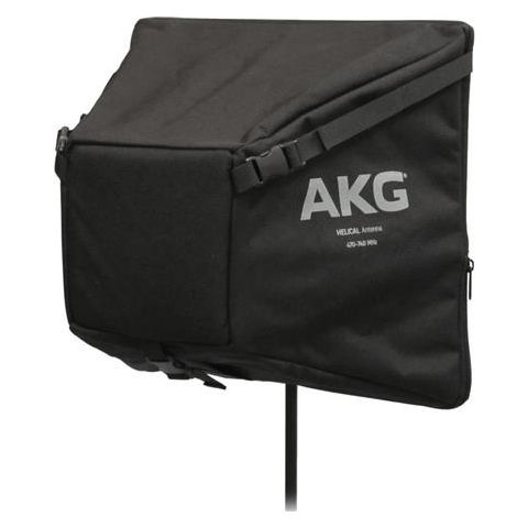 "AKG Acoustics HELICAL Passive Circular Polarized Directional Antenna, 9 dBi Gain, Foldable from 12"" to 3"", by AKG"