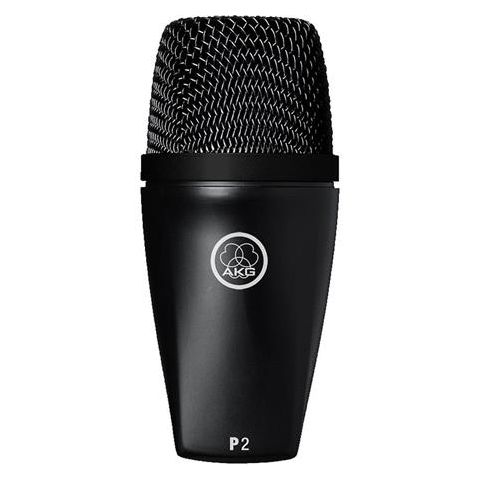 AKG Acoustics P2 Dynamic Bass Low-pitched Instrument Cardioid Microphone, 20Hz-16kHz Frequency Response, by AKG