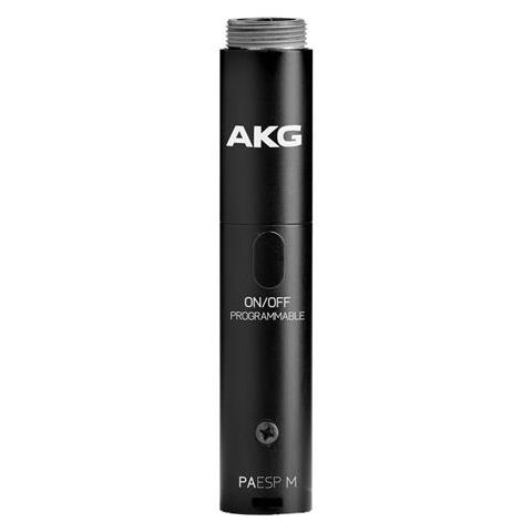 AKG Acoustics PAESP M Phantom Power Module Adapter with Programmable Switch, 3-Pin XLR Connector, 20Hz to 20kHz Audio Frequency Bandwidth, 2000Ohms Load Impedance by AKG