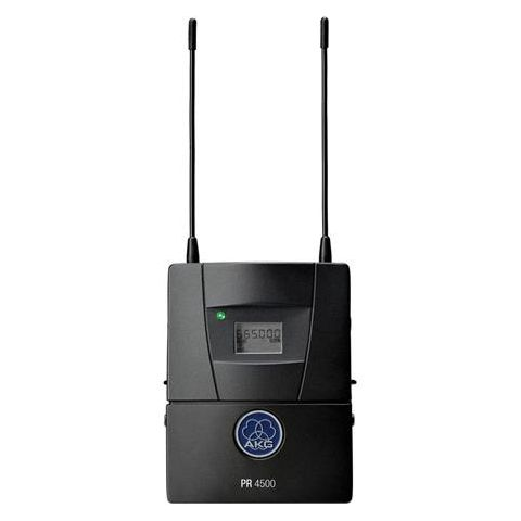 AKG Acoustics PR4500 ENG Reference Camera Wireless Receiver, Band 1 650-680MHz, 60 Simultaneous Channels, 328.08' Line of Sight by AKG