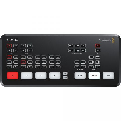 Blackmagic Design ATEM Mini Live Production Switcher SWATEMMINI by Blackmagic Design