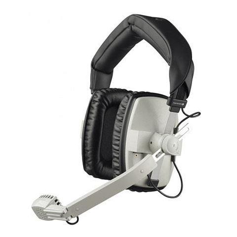 Beyerdynamic DT 109 400Ohms Dynamic Closed Headset with Hypercardioid Mic, Gray by Beyerdynamic