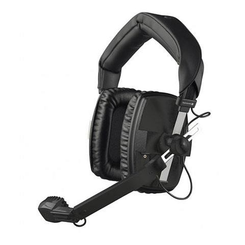 Beyerdynamic DT 109 50Ohms Dynamic Closed Headset with Hypercardioid Mic, Black by Beyerdynamic