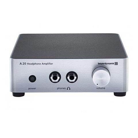 Beyerdynamic A 20 Headphones Amplifier, Silver by Beyerdynamic