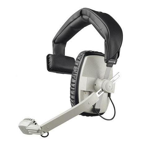 Beyerdynamic DT 108 400Ohms Dynamic Closed Headset with Hypercardioid Mic, Gray by Beyerdynamic