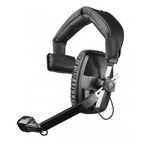 Beyerdynamic DT 108 400Ohms Dynamic Closed Headset with Hypercardioid Mic, Black by Beyerdynamic