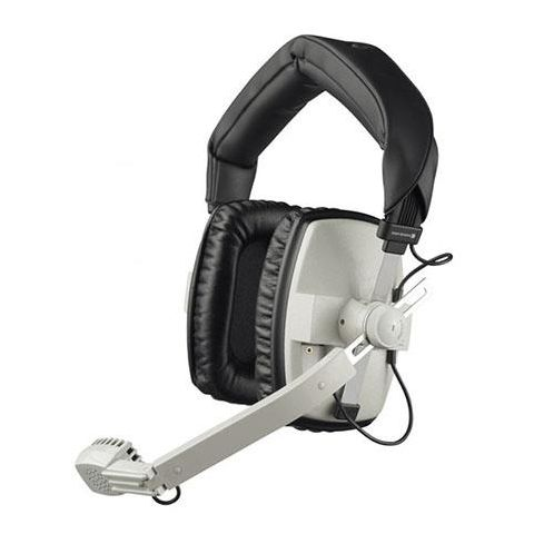 Beyerdynamic DT 109 50Ohms Dynamic Closed Headset with Hypercardioid Mic, Gray by Beyerdynamic