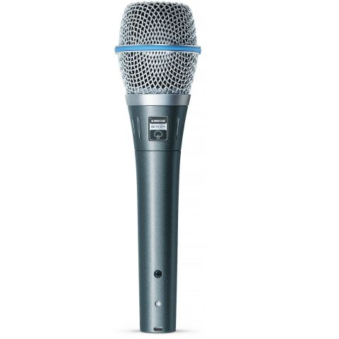 Shure BETA 87A Super-Cardioid Condenser Handheld Vocal Microphone. by Shure