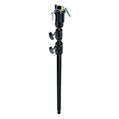 """Manfrotto 3-Section Aluminum High Stand Extension 53-123.5"""", Black by Manfrotto"""