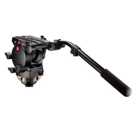 Manfrotto 526 Pro Video Fluid Head with Quick Release - Supports 35.2 lbs by Manfrotto