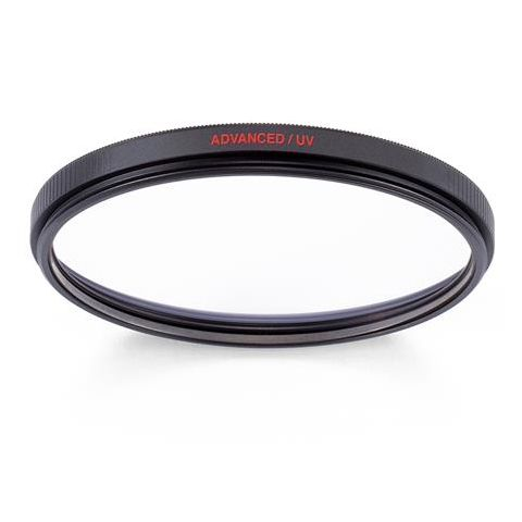 Manfrotto MFADVUV-62 62mm Advanced UV Filter, 12 Coating Layers, Anti-reflective Coating, Water Repellent by Manfrotto