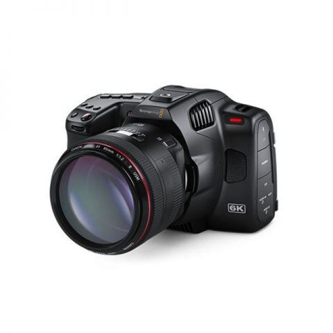 Blackmagic Design Pocket Cinema Camera 6K Pro (Canon EF) by Blackmagic Design