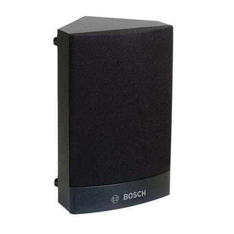 Bosch 6W Corner Cabinet Loudspeaker, 198Hz-15kHz, Single, Black by Bosch