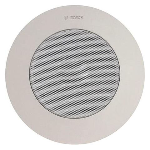 Bosch LBC 3951/11 6W Ceiling Loudspeaker, 60Hz-18kHz, Splashproof, Single, White by Bosch