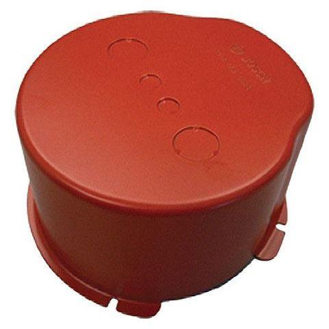 Bosch LBC 3080/01 Metal Fire Dome for LBC 3087/41, LBC 3090/01, LBC 3090/31, LHM 0606/00 & LHM 0606/10 Ceiling Loudspeakers, Flame Red by Bosch
