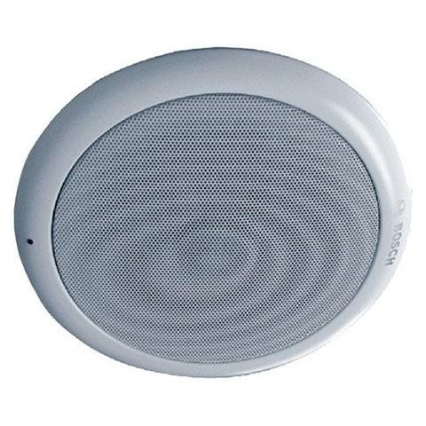 Bosch LC1-UM12E8 12W Ceiling Loudspeaker, 418/833 Ohm Rated Impedance, 55Hz to 20kHz Frequency Range, Single, White by Bosch