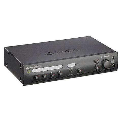Bosch PLE-1MA060 60Watt Plena Mixer Amplifier, 50Hz-20KHz Frequency Response, Charcoal by Bosch