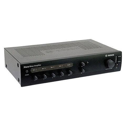 Bosch PLE-1ME120-US 120Watt Economy Plena Mixer Amplifier, 70Hz-20kHz Mic Frequency Response, Charcoal by Bosch