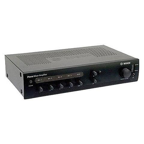 Bosch PLE-1ME240-US 240Watt Economy Plena Mixer Amplifier, 70Hz-20kHz Frequency Response, charcoal by Bosch