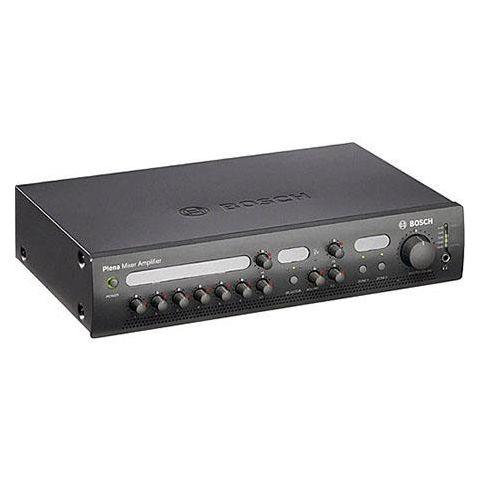 Bosch PLE-2MA240 2 Channel, 240 Watt Plena Mixer Amplifier, 50Hz-20kHz Frequency Response, Charcoal by Bosch