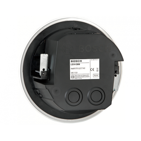 Bosch LC4-CBB ABS Back Box for LC4 Series Speakers, Black by Bosch