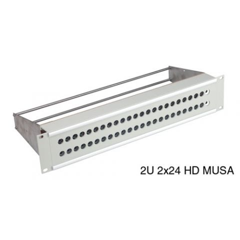 CANFORD 48-4348 MUSA PATCH PANEL 2U 2X24 by Canford