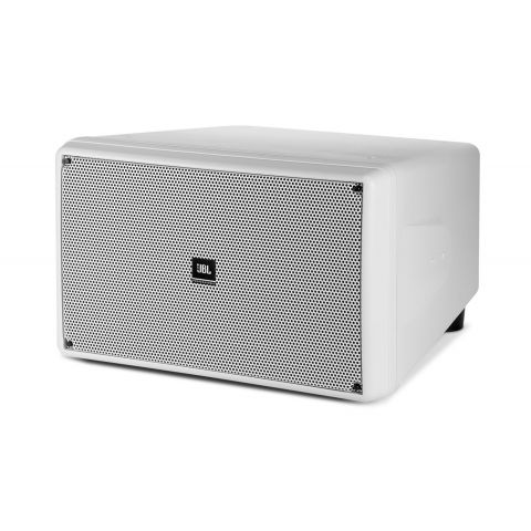 "CONTROL SB2210 Dual 10"" Compact Subwoofer in White by JBL"