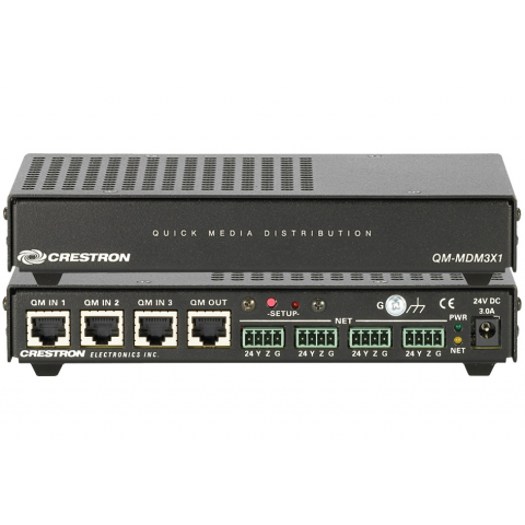 Crestron QM-MDM3X1 QuickMedia Mini-Switcher by Crestron