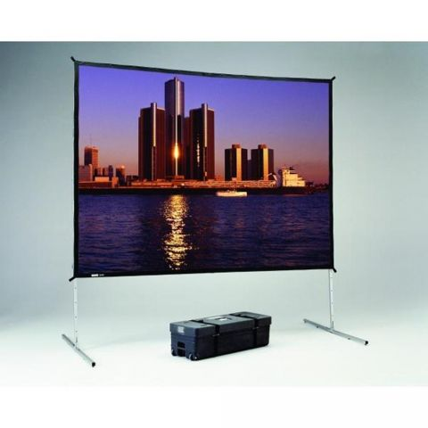 "Da-Lite 88693 Fast-Fold Deluxe Projection Screen (83 x 144"") by Da-Lite"