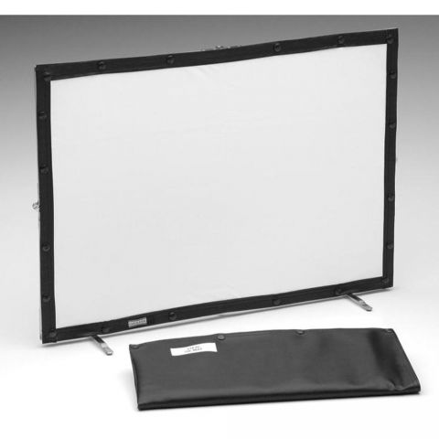 "Da-Lite Fast-Fold Mini-Fold Tabletop Front and Rear Projection Screen - 21 x 30"" - Dual Vision by Da-Lite"