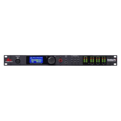 DBX  DriveRack PA2 Complete Loudspeaker Management System,  8-Band Parametric EQ,  Subharmonic Synthesis,  Driver Alignment Delays by DBX