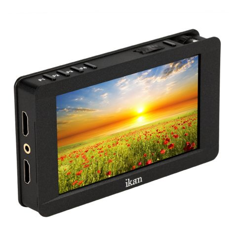 "Ikan DH5e-V2 Delta 5"" On-Camera 4K HDMI Monitor with 3D LUTs Support by Ikan"
