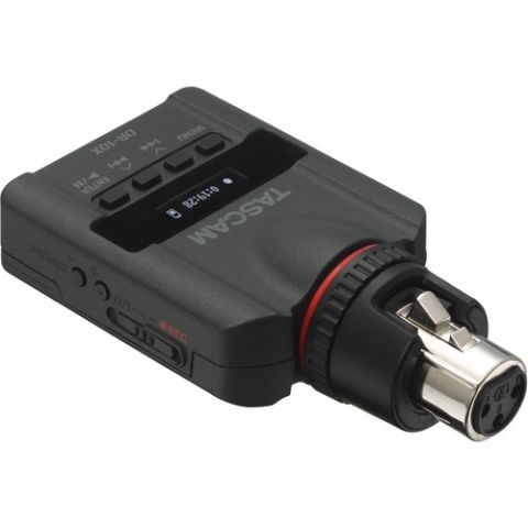 Tascam  DR-10X Plug-On Micro Linear PCM Recorder (XLR) by Tascam
