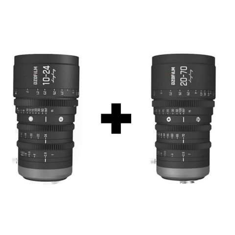 DZOFILM Linglung 10-24mm & 20-70mm T2.9 Cinema Lens Bundle [by DZOFilm]
